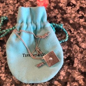 Tiffany Graduation pendant w/ 16 inch chain